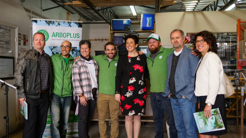Arboplus - Conférence de presse - Acquisition de Novafor arboriculture - Député